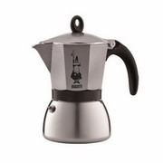 Moka Induction Grey (6 cups)
