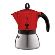 Moka Induction Red (6 cups)